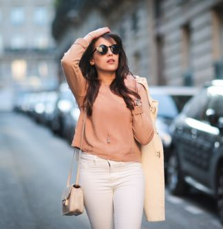Streetstyle : 3 looks pour oser le nude