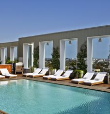 Le boutique Hôtel Mondrian, une adresse jet-set au coeur de West Hollywood