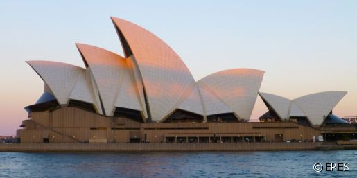 Sydney Opera House And Cityscape
